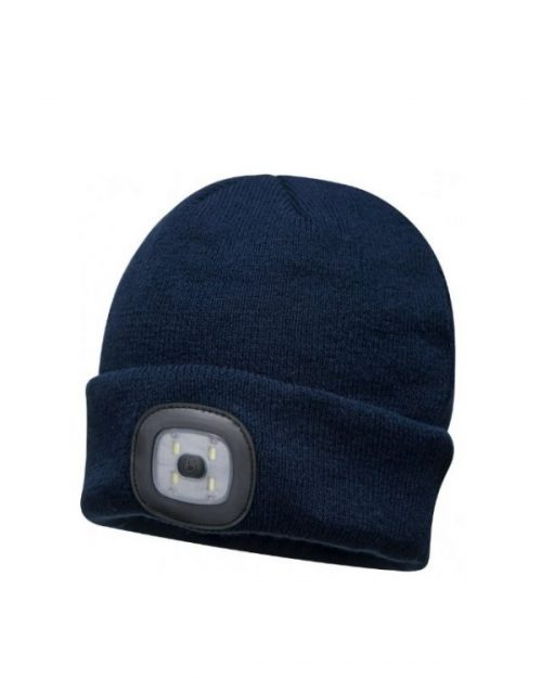 Beanie Rechargeable LED Navy