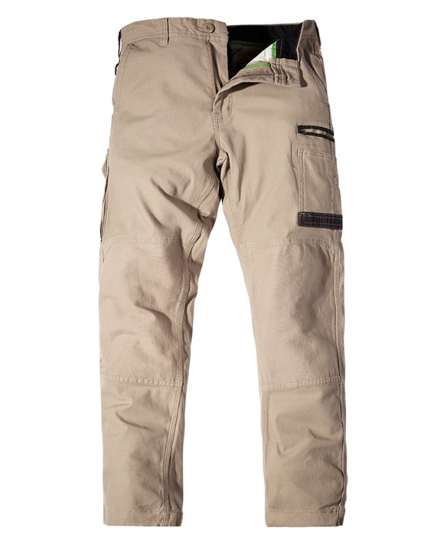 FXD WP3 khaki work pants