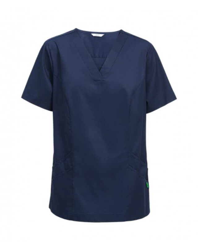 NNT Nightingale V-Neck Scrub Top CATU5F NAVY