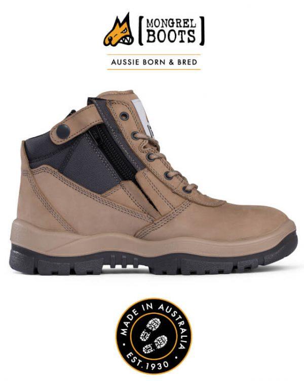 Boot Zipsider Stone 261060
