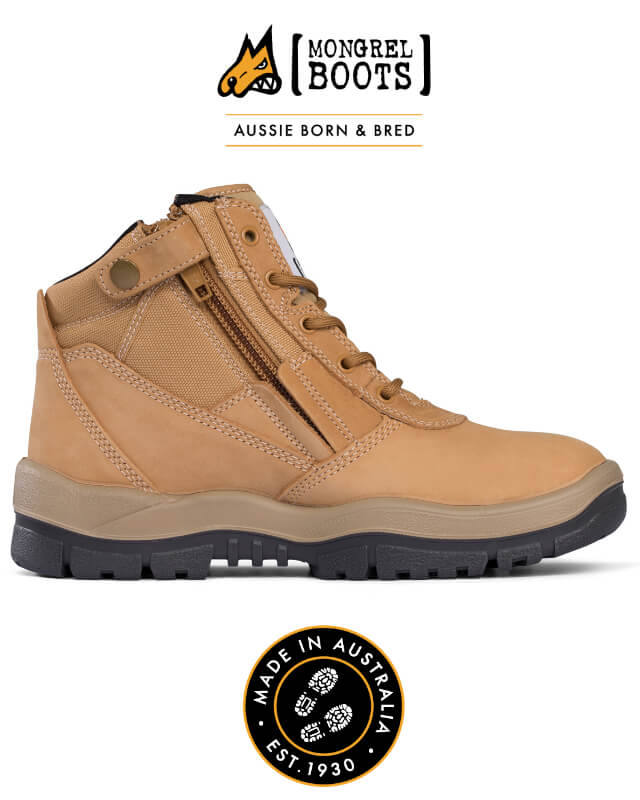 Boot Zipsider Wheat 261050