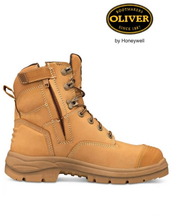 OLIVER AT55 332z WHEAT ZIP SIDED BOOT 150MM  (55-332Z)