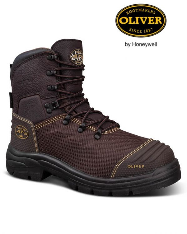 OLIVER AT65 WATERPROOF BROWN LACE UP (65-490)