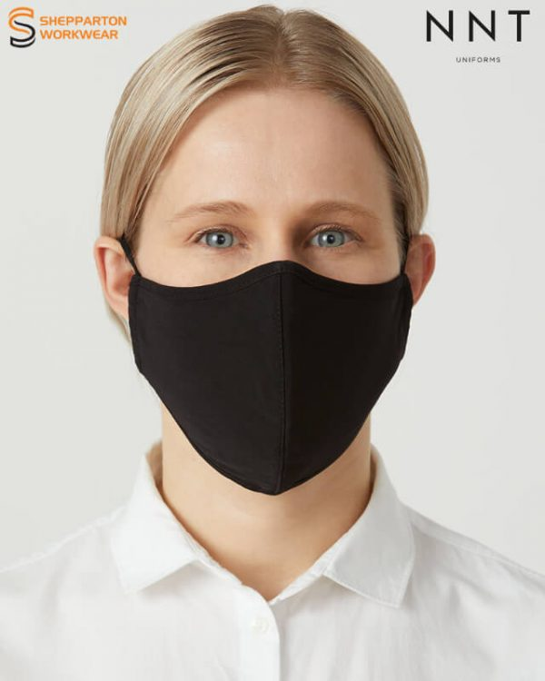 NNT Black Re-Usable Face Mask 5 Pack