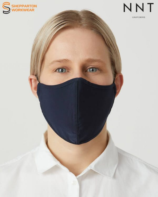 NNT Navy Re-Usable Face Mask 5 Pack