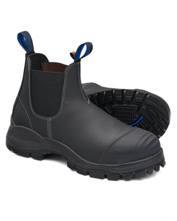 BLUNDSTONE 990 WORK BOOTS - BLACK