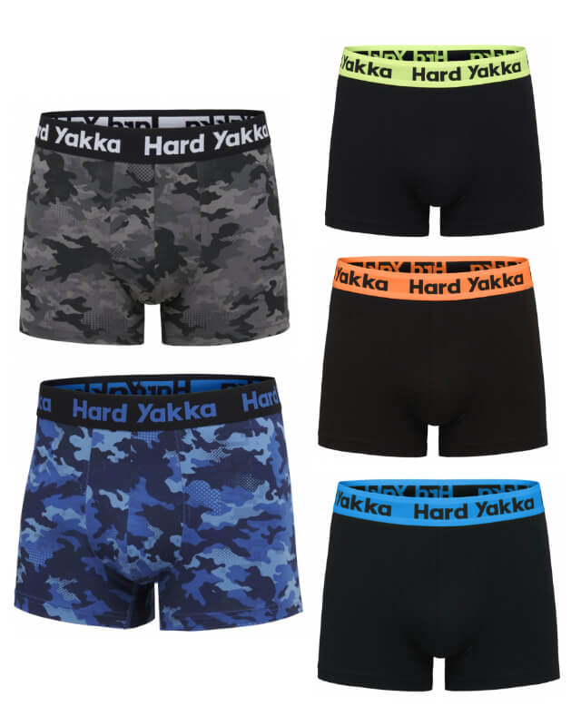 Hard Yakka Cotton Trunk 5 Pack