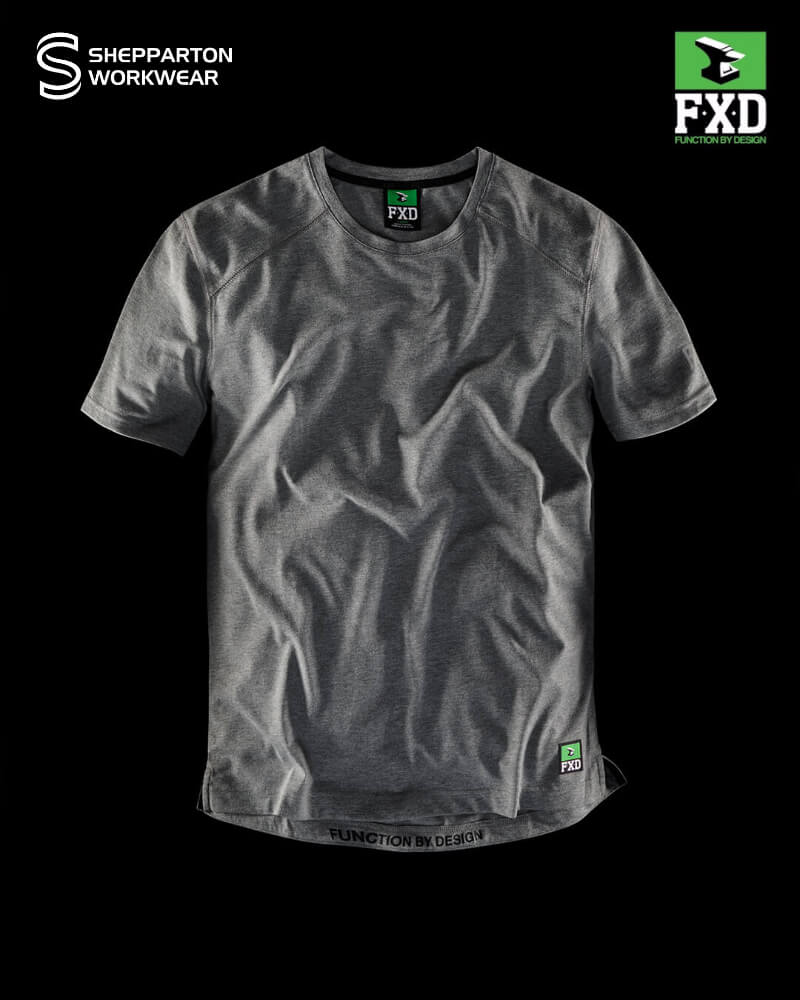 FXD WT.3 Grey Marle Technical Work T-Shirt