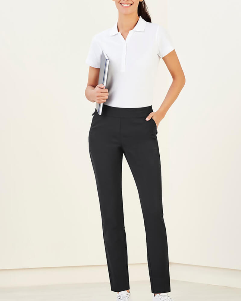 Biz Care Jane Ankle Length Stretch Pant CL041LL front