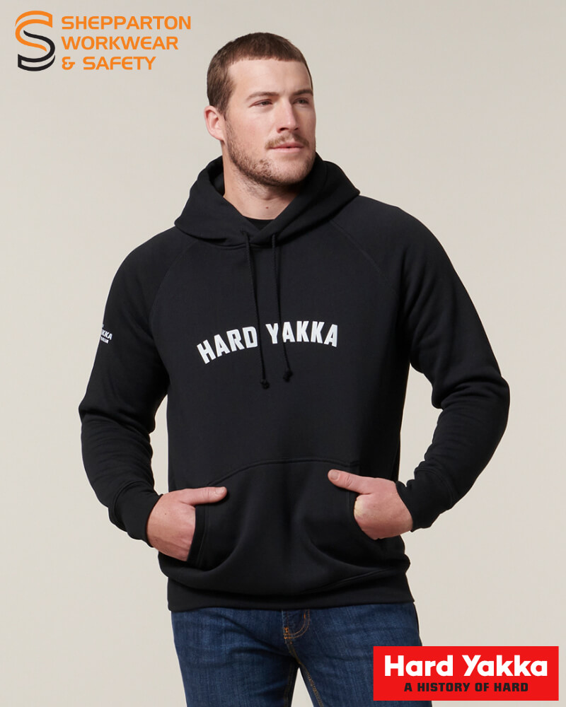 Yakka Aussie Legends Black Hoodie