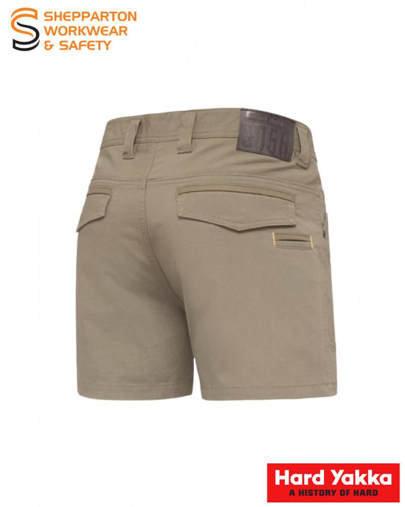 Yakka Short Shorts 3056 Y05115 Desert back
